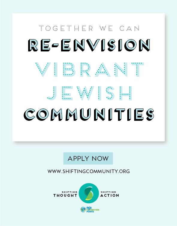 STSA together we can re-envision vibrant jewish communities